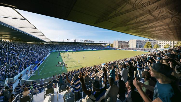 Bath Rugby Stadium