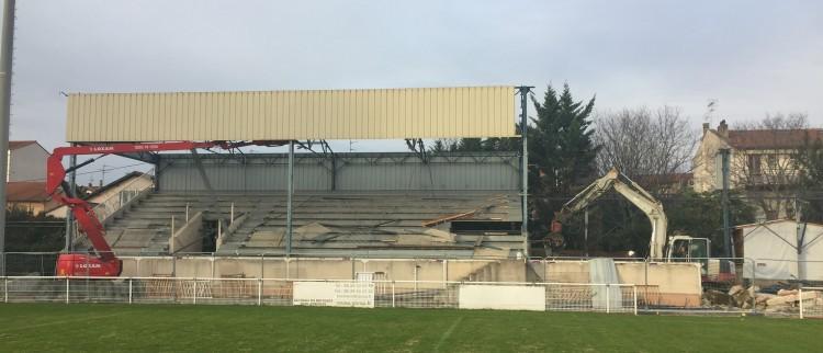 D but des travaux au stade arnaun du toulouse olympique - Piscine olympique toulouse ...