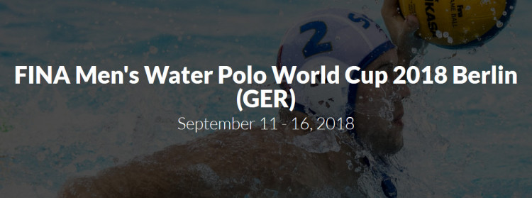 FINA Men's Water Polo World Cup 2018
