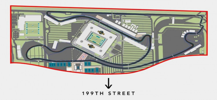 Hard Rock Stadium F1 Circuit