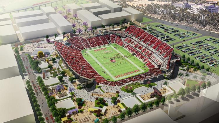 Mission Valley stadium