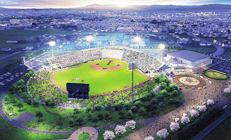 Morioka Minami Park Ballpark