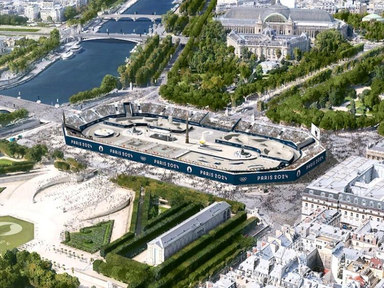 Paris 2024 Urban Sport Stadium