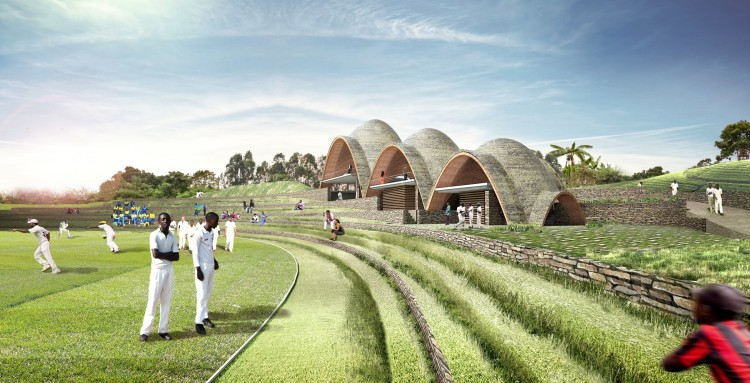 projet de stade de cricket cologique au rwanda. Black Bedroom Furniture Sets. Home Design Ideas
