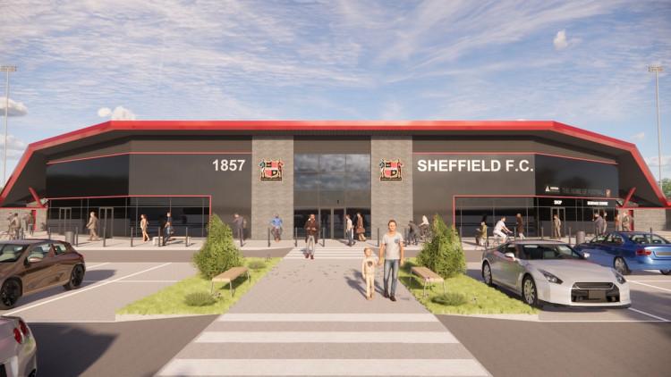 Sheffield FC Stadium by WMA Architects