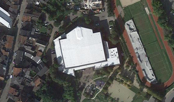 Sportcomplex De Bres Halle