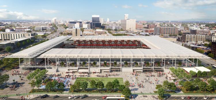 St Louis MLS Stadium