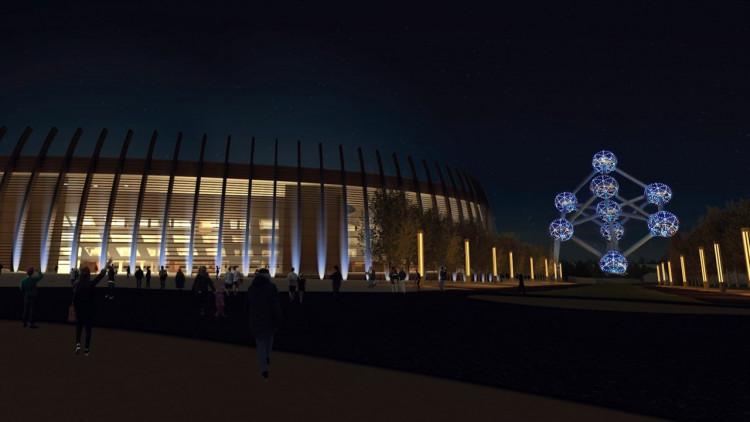 Stade National de Belgique par La Cambre-Horta