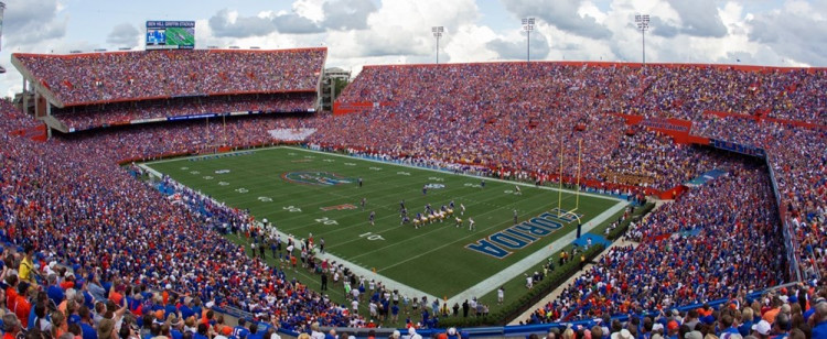 Steve Spurrier-Florida Field at Ben Hill Griffin Stadium