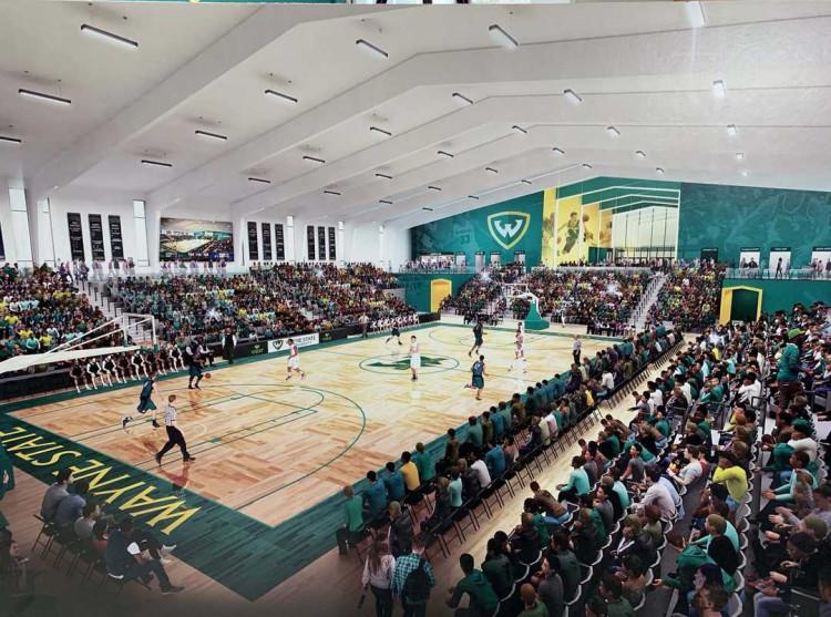Wayne State University Arena