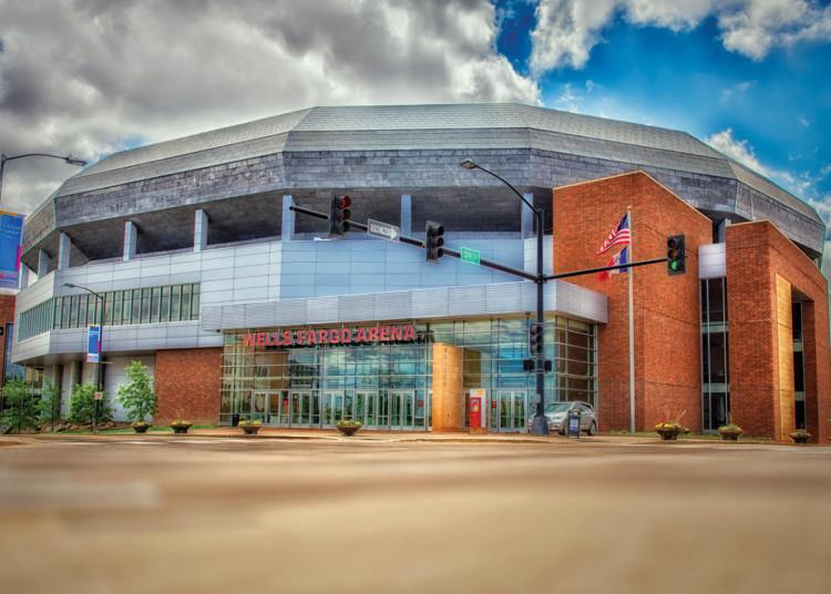 Wells Fargo Arena, Desmoines