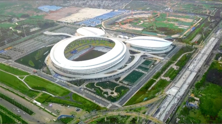 Wuhan Five Rings Sports Centre Stadium